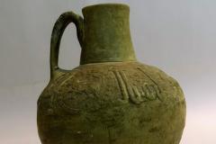 Air Tumber Vase  Seldjoukides period   (1170s and 1220s) 18.5 cm X 13.5 cm